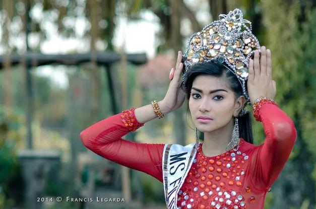 Miss Filipinas Heritage 2014 Odessa Mae Tadaya