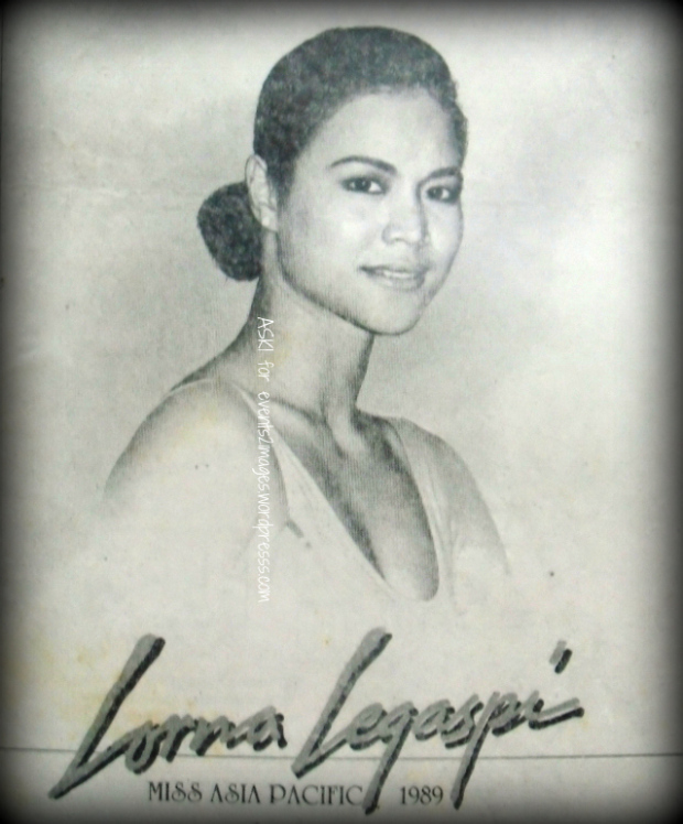 Lorna Legaspi remains as my favorite Miss Asia-Pacific winner