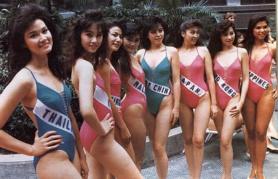 Four of the eight Asian delegates above made Top 10 during MU1988 with all of them reaching Top 5. Sadly, Miss Philippines wasn't among the fortunate ones.