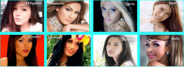 Who among these eight gorgeous contenders will win the title?