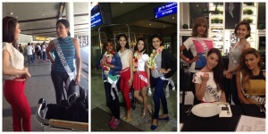 During their arrival in Manila