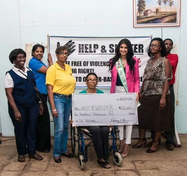 Rufieya's BWAP Project is to fight against domestic violence in Georgetown, Guyana