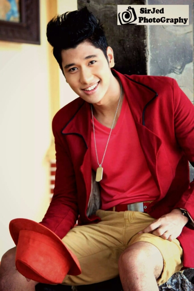Alvin before Misters of the Philippines 2014