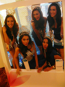 Our Bb. Pilipinas 2014 Queens during the Lactacyd launch
