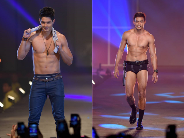 PBB All-In Big Winner Daniel Matsunaga and Misters of the Philippines 2014 Top Winner Neil Perez (Photo credit: Bruce Casanova)