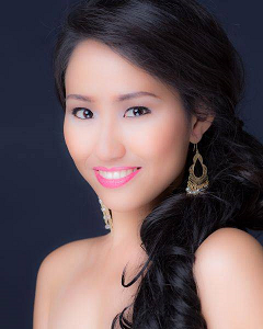 Jean Marie's headshot for Miss World Philippines 2014