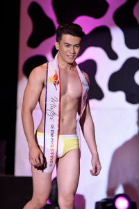 Joseph during the Top 15 swimwear competition (Photo credit: OPMB Worldwide)