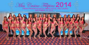 One of the thirty ladies above will be crowned Miss Casino Filipino 2014 tonight