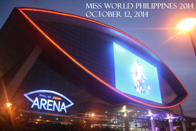 It will all happen at the SM MOA Arena on October 12, 2014.