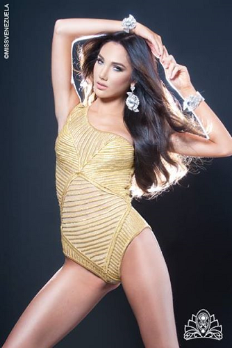 Miss Venezuela International 2014 Edymar Martinez Blanco of Anzoategui