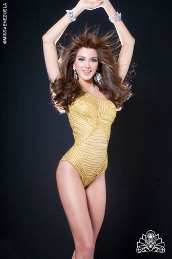 Miss Venezuela 2014 1st Runner-Up Lorena Santos Agli of Distrito Capital