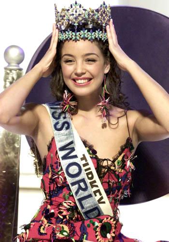 Miss World 2002 Azra Akin of Turkey
