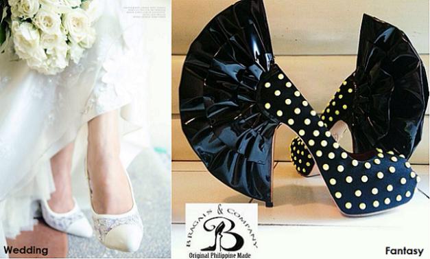 Jojo Bragais can do custom-made wedding and fantasy pairs as well.