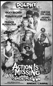 Above is the poster of the movie Pebbles did with Comedy King Dolphy