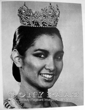 Mutya ng Pilipinas World 1986 Sherry Rose Byrne (Photo credit: Tony Paat)