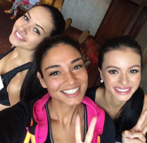 The trio that parallels the Three Ms of Megan Young in Bali last year