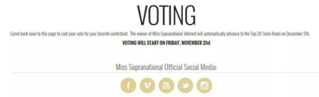 Voting will start today. November 21 (Polish time). Click above to go to the voting page.