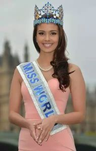 An ever-smiling Miss World 2013 Megan Young