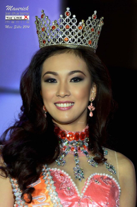 Faith as Miss Silka Philippines 2013 (Photo credit: Mavrik Joel Bernal)