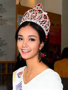 May Myat Noe, the controversial winner of Miss Asia Pacific World 2014