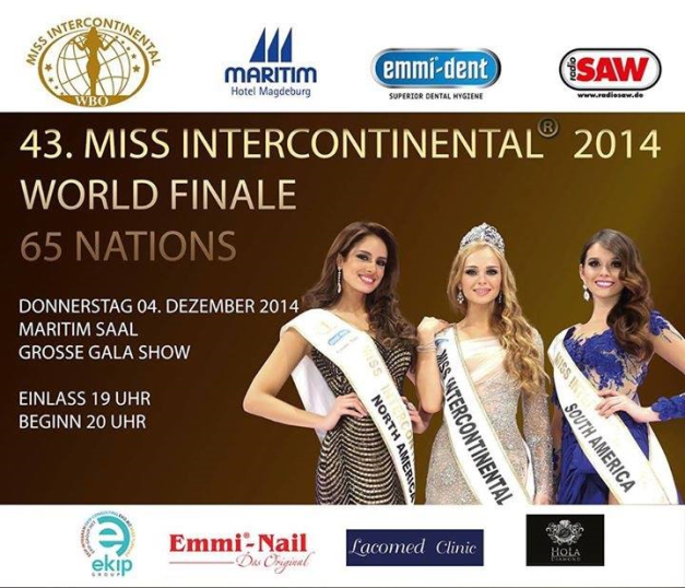 Miss Intercontinental 2014 Live Streaming should start between 3:00AM-4:00AM of Friday Manila time.