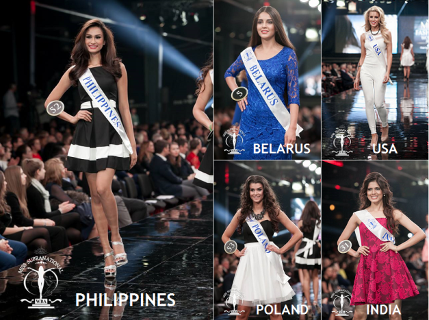 I would love to see the five ladies above in the Top 5 with Yvethe Santiago clinching a back-to-back victory for the Philippines