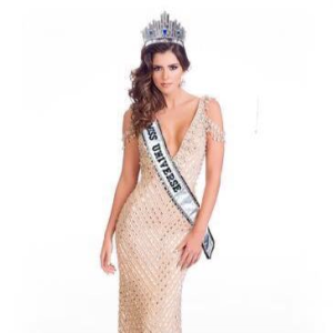 The 63rd Miss Universe Paulina Vega Dieppa of Colombia