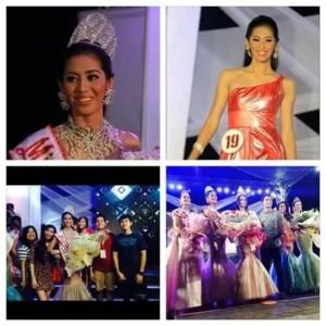 Marvi Ann de Lima during Miss Camarines Sur 2014