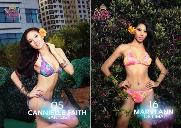 All Caneille wants is to leave a lasting impression in Bb. Pilipinas 2015 and hopefully place well. Marvi Ann wants to win for her home town and place in Bb. Pilipinas in this, her very first try.