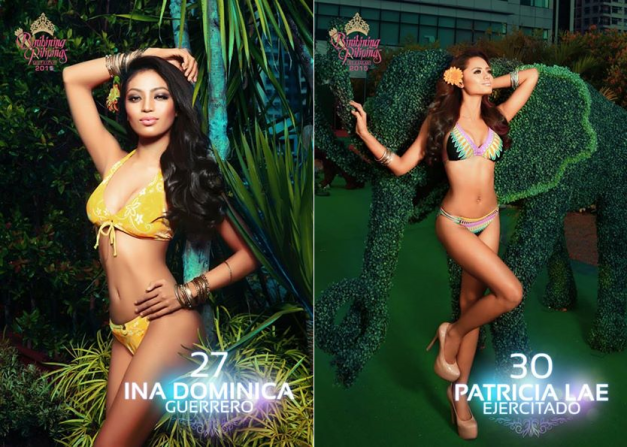 The second of our Binibini Face-Off Series offers a match between Ina Guerrero and Patricia Ejercitado