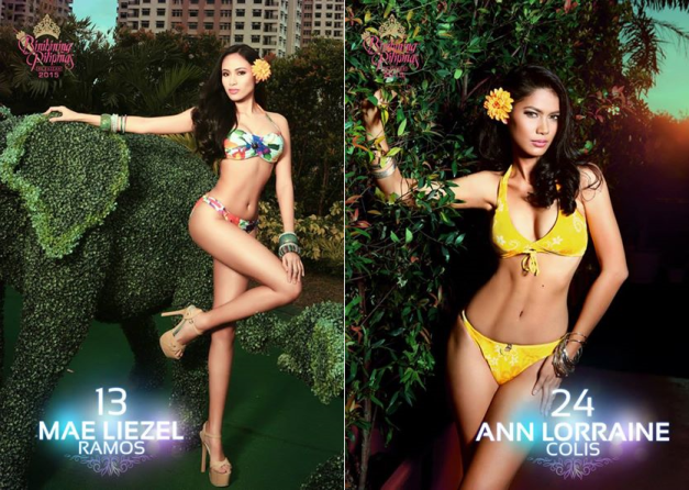 Time to herald the face-off between Binibini 13 Mae Liezel Ramos and Binibini 24 Ann Lorraine Colis