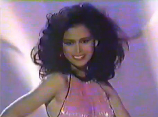 Melanie during the Ford Supermodel of the World 1986 finals