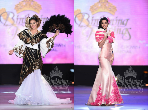 Binibini 15 Paula Rich Bartolome and Binibini 22 Anja-Vanessa Peter close out our Face-Off series with their A&Q-KF beauty match (Photo credit: Bruce Casanova)