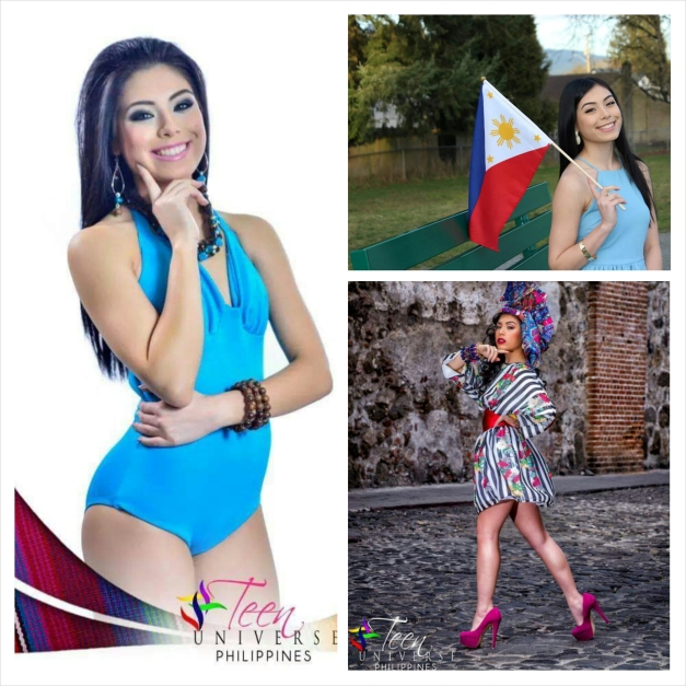 Miss Philippines Shawna Warhurst, 17, a high school student from Maple Ridge,  British Columbia.