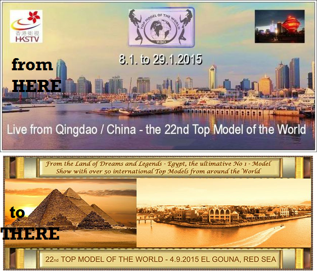 Qingdao should have hosted Top Model of the World last month. Now it's going to be back to Egypt and not until September at that.