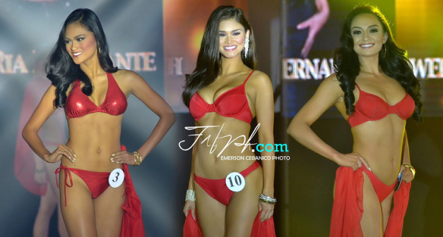 Photographer Emerson Cebanico prepared the triple face-off layout of Ria Rabajante, Pia Wurtzbach and Mia Howell above.