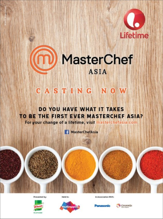 I love the Masterchef show. The Asian version will be coming soon. Click above if you're interested!