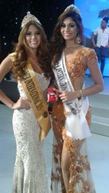 Brazil's Fablina Paixao (right) won Miss Summer International 2015
