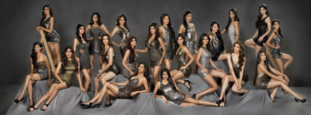 The Official Candidates of fbb Femina Miss India 2015