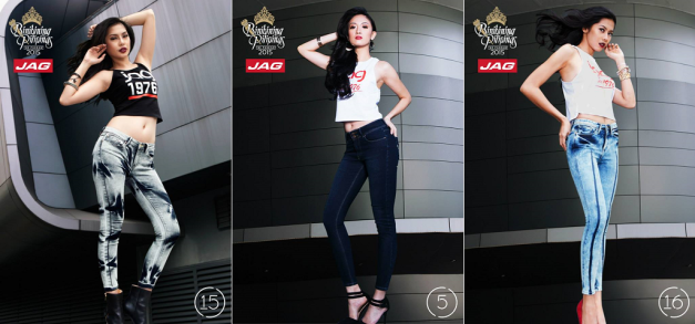 More Binibinis in all their Jag sexiness