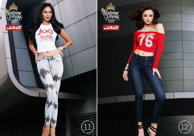 Janicel and Kylie show off their Jag get-ups. Click on the image to see the rest.