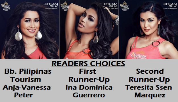 The three (3) Binibinis above complete the Top 7 with their specific honors awarded accordingly.