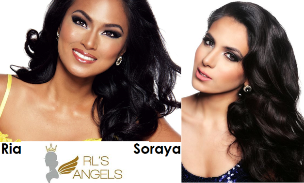 Binibini 3 Ria Rabajante (left) and Binibini 4 Renee Soraya Hassani: Will they bring honor to RL's Angels on March 15?