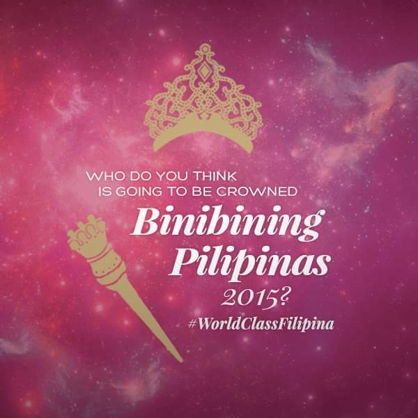 Fashion And Beauty Bb Pilipinas 2015 Candidates Sponsor: Bb. Pilipinas 2015