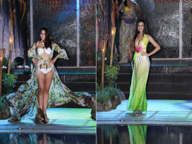 Two of the strong favorites in MPE2015 are Chanel Olive Thomas (left) and Diana Mackey, both from Nueva Ecija