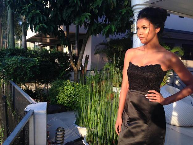 Bb. Pilipinas Intercontinental 2015 Christi Lynn McGarry in her side shots during the Doc Marlon photoshoot