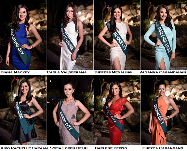 The eight ladies above are my early favorites in the competition (Photo credit: Bruce Casanova)