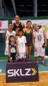 A family that plays together, stays fit together