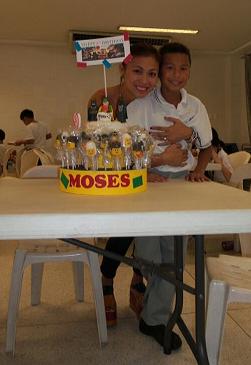 Mafae and son Moses