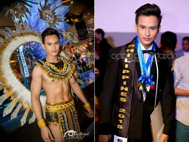 Mister United Continents Philippines 2015 Reynaldo Cataluna III (Photo creidts: Joy Arguil and Jory Rivera)